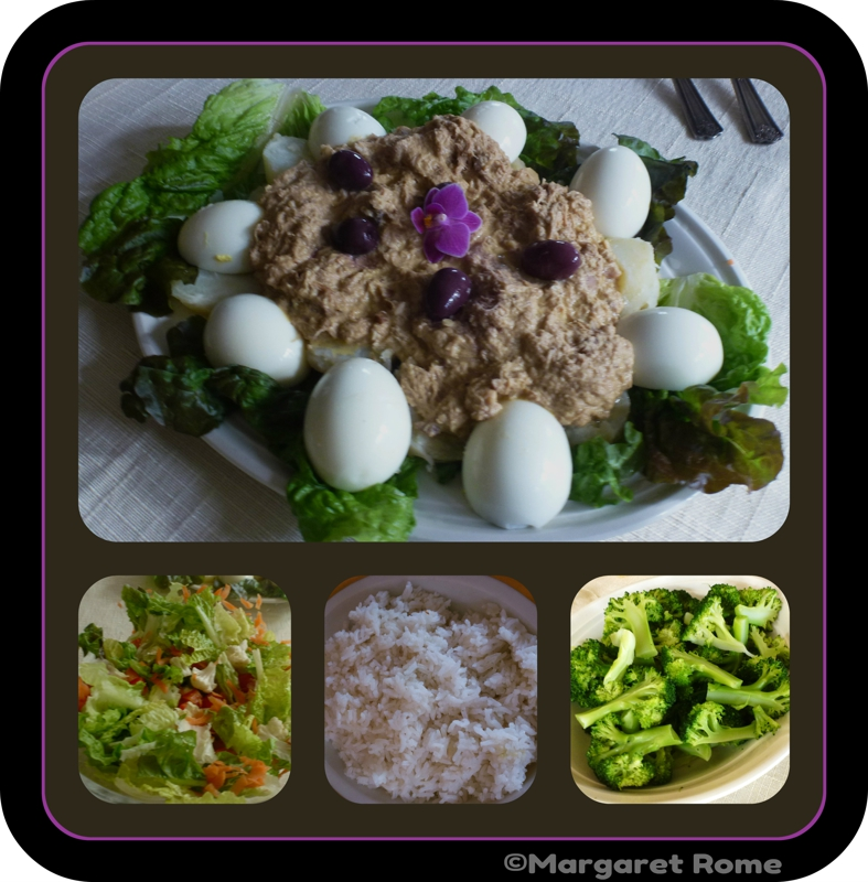 Peruvian lunch