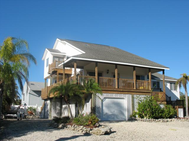 delightful cbshomes #4: Piling frame home Fort Myers Beach