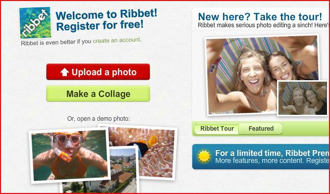 ribbet signup