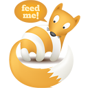 Cool Free RSS animal icon for your blog