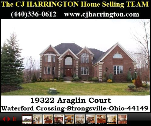 Cleveland Real Estate-19322 Araglin Crt(Strongsville, Ohio 44149)...Call (440)336-0612 or Visit WWW.CJHARRINGTON.COM for More Information/Homes for Sale