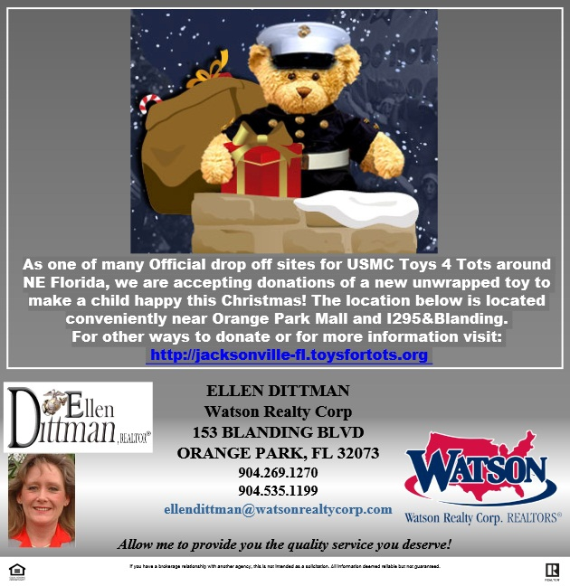 Toys For Tots Drop Off : U s marine corps reserve toys for tots jacksonville fl