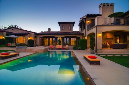 """""""dream house"""" is located in Rancho Santa Fe and is a custom home"""