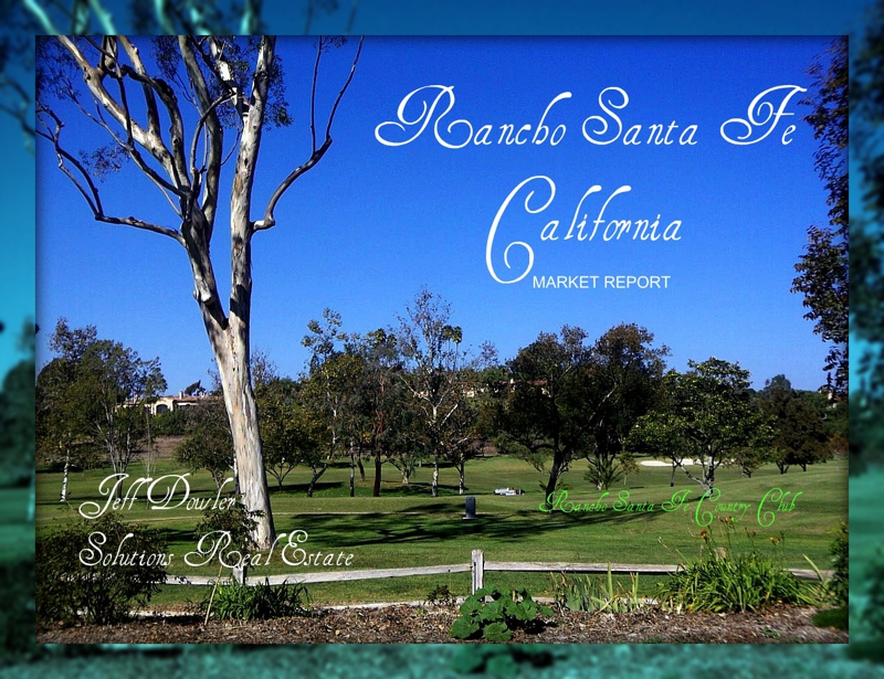 Rancho Santa Fe homes for sale - Market Report for January 2011
