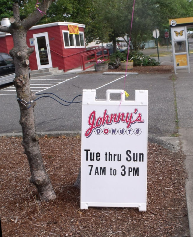 Johnny's Donuts Bellingham, WA