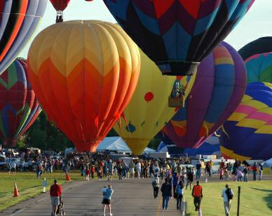 Littleton CO - Hot Air Balloon Festival