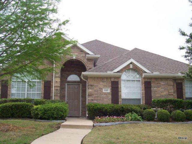 front view of 610 Candlewood Maxwell Creek Murphy TX