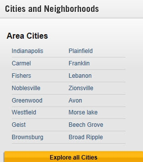 Indianapolis Cities
