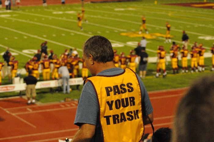 Pass your trash Science Hill football