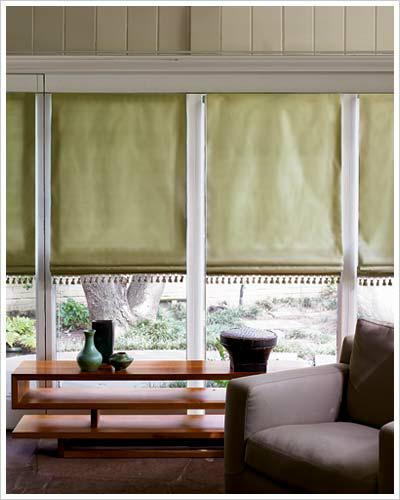 It 39 s time to come home window treatments part ii for Smith noble shades