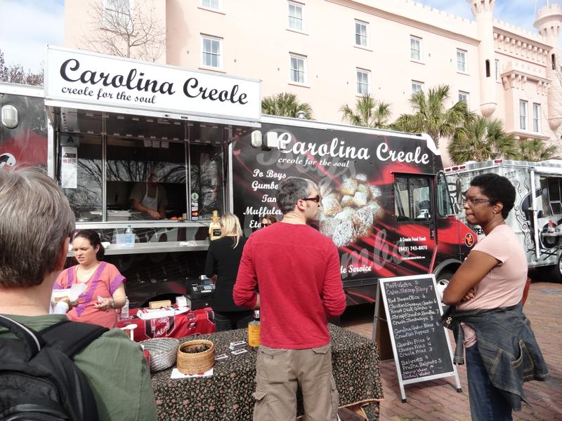 King Creole Food Truck Menu