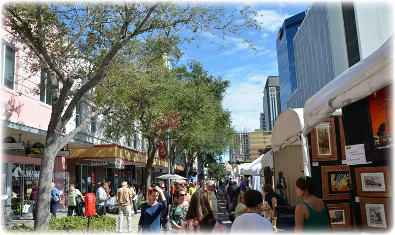 another busy weekend in downtown st petersburg florida