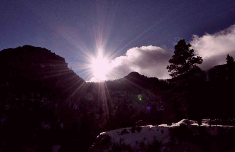 photograph by Robert Swetz - Mount Charleston Nevada