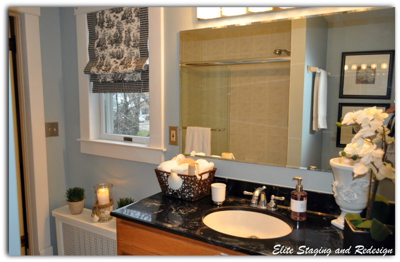 Staging a house on a budget home design for Staging a bathroom ideas