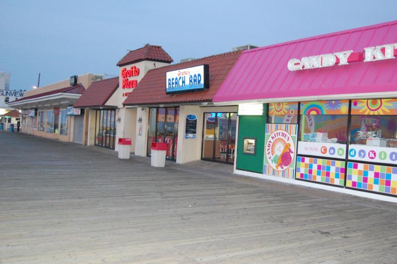 Boardwalk At Rehoboth Beach