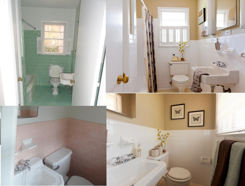 Design2Sell Bathroom Collage B&A
