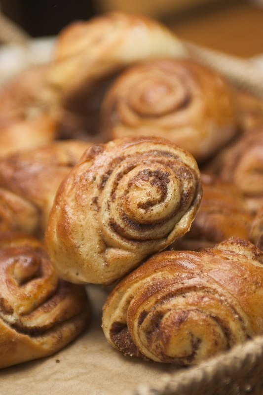 Baking during the holidays pleases the buyers sense of smell