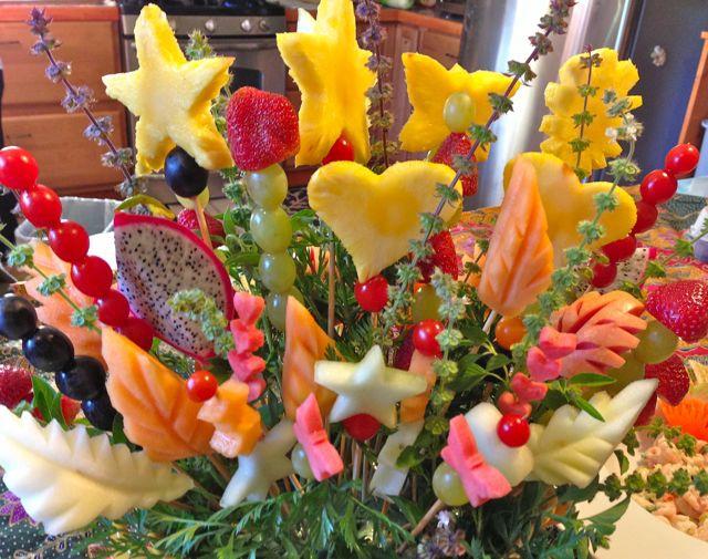 Fresh Fruit Displays