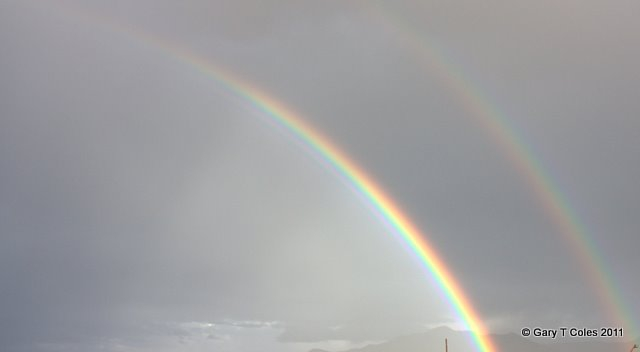 Double Rainbow - Photo by Gary Coles - Paradise4Gringos.com