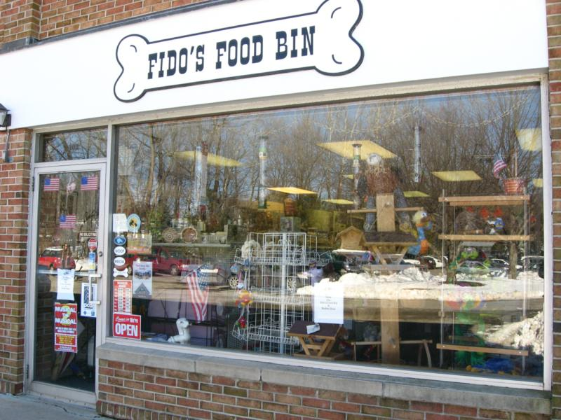 Fido's storefront