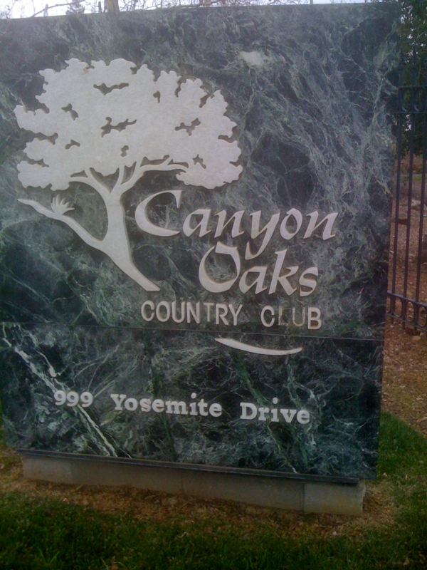 Chico canyon oaks golf and country club march 10 2011 chain real estate