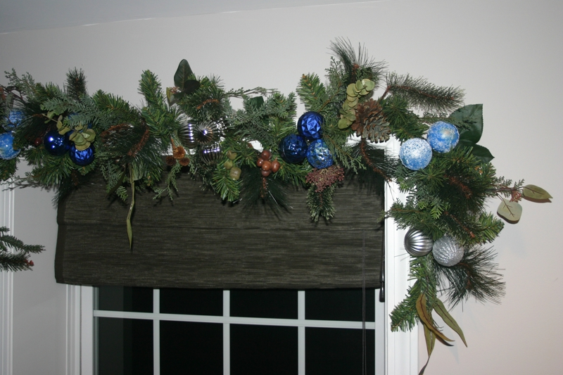 repurpose old garland