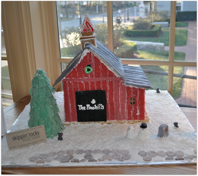Pinehills Gingerbread House Tour December 2010