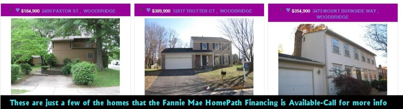 Fannie Mae Homes For Sale Nothern Virginia