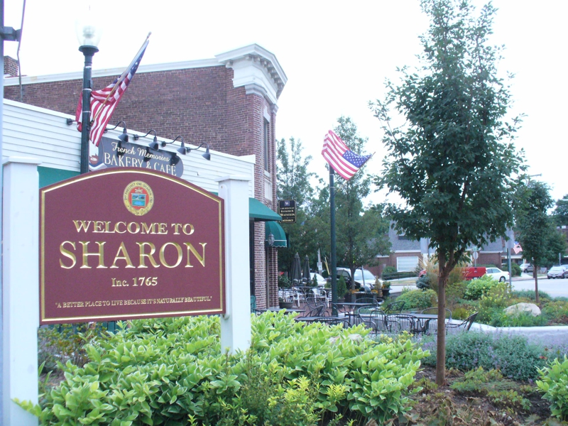 Welcome to Sharon MA sign in Post Office Square