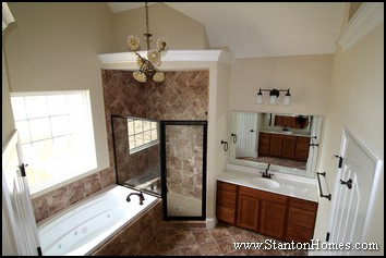 Custom Home Master Bath Design Ideas | 2012 Master Bathroom Styles