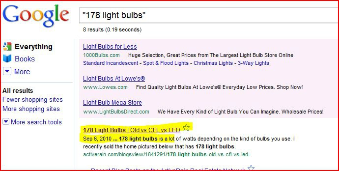 how to get blog to show up on google search
