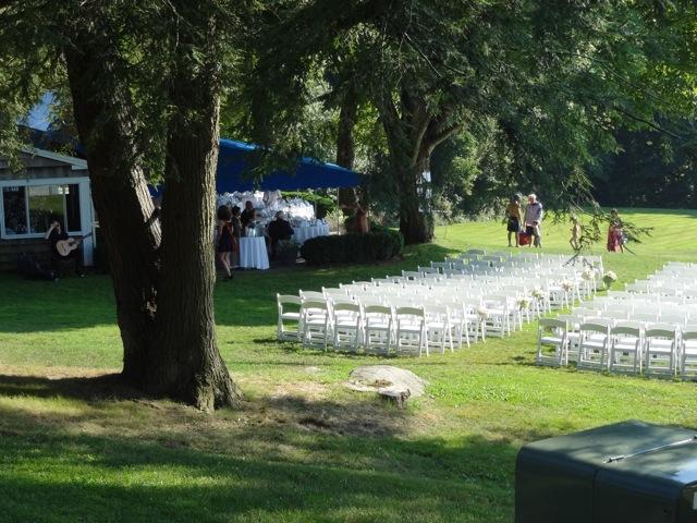 Wilton Riding Club Kristi's wedding