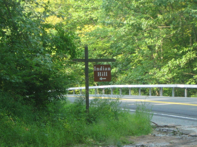 indian hill sign