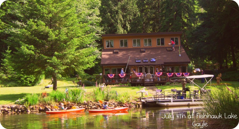 Fishhawk Lake 4th of July