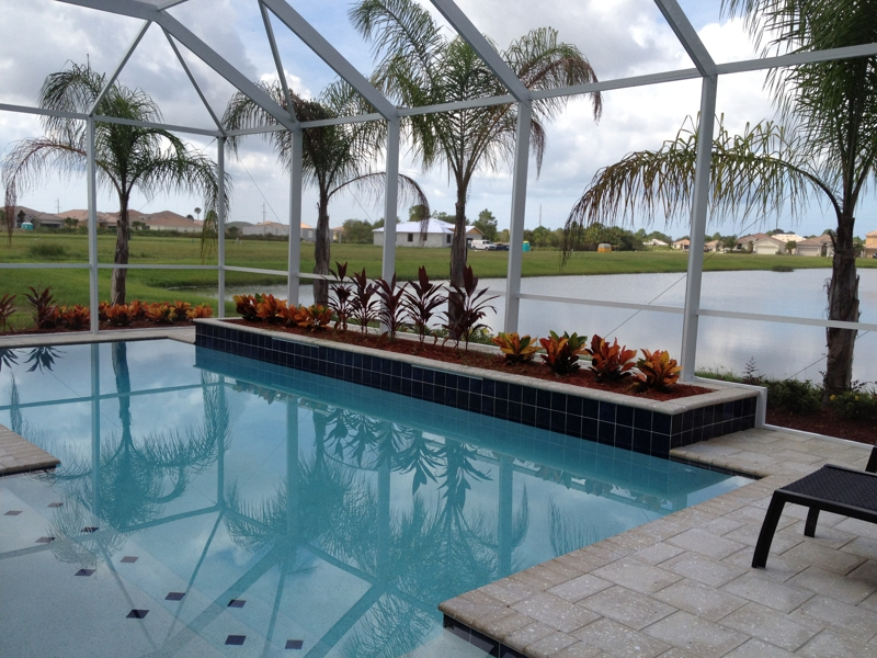 Building A New House By Kbhome At Stoneybrook Venice Fl