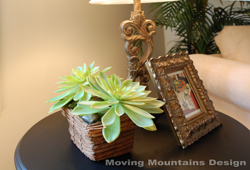 Los angeles home stager gets crafty with silk flowers succulents los angeles home staging faux plants mightylinksfo