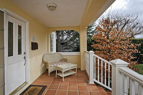 Front porch at 267 Hillview