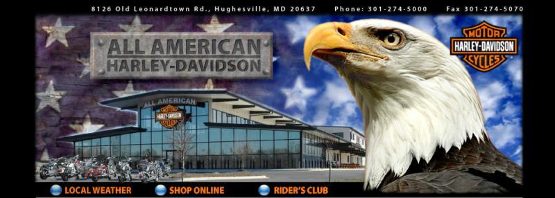 all american harley-davidson - hughesville 10k festival sponsor