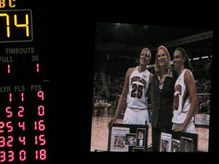 Lady Terps Senior Night