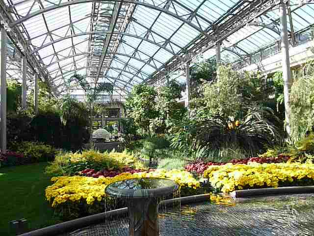 East Conservatory of Longwood Gardens