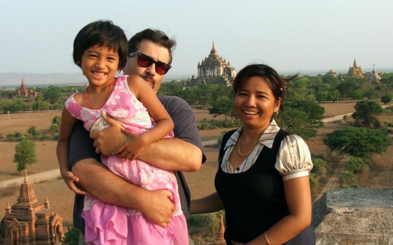 Cherry, Robert & Nu Nu - May 2008 - Burma