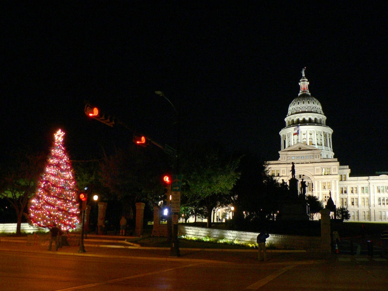 Christmas in Austin with Austin Home girls Realty