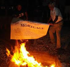 Mortgage Burning