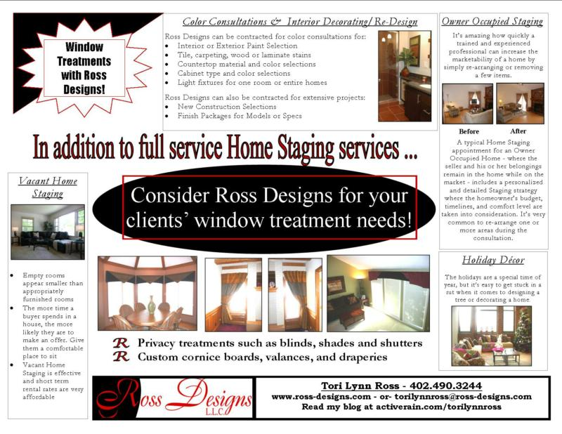 Ross-designs.com flier