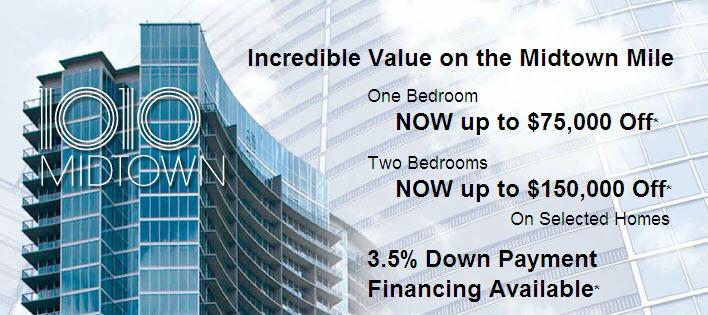 1010 midtown condominiums announce price reductions for 1010 midtown floor plans