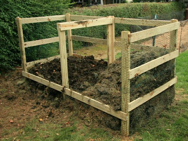 Lancaster PA composting, homemade compost bin designs