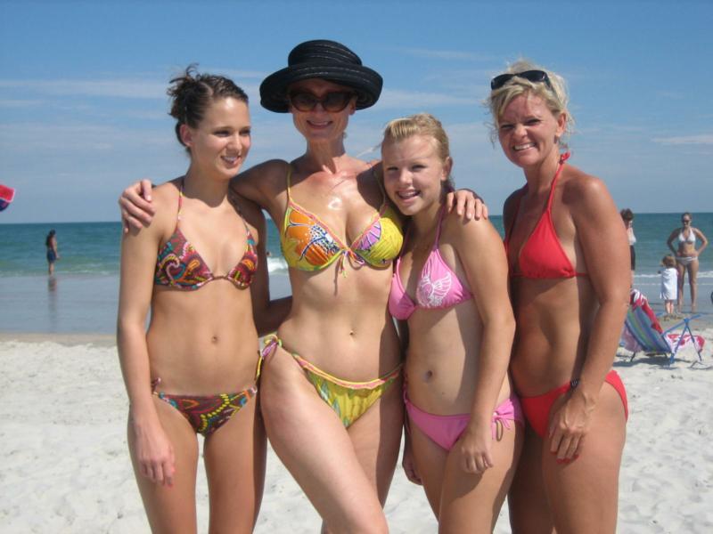 Bikini birthday bra camp community type