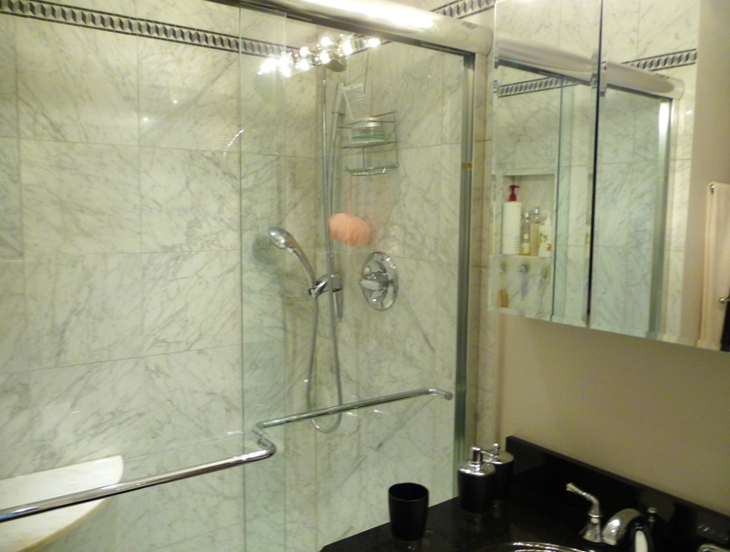 walk in master shower   HomeRome 410-530-2400