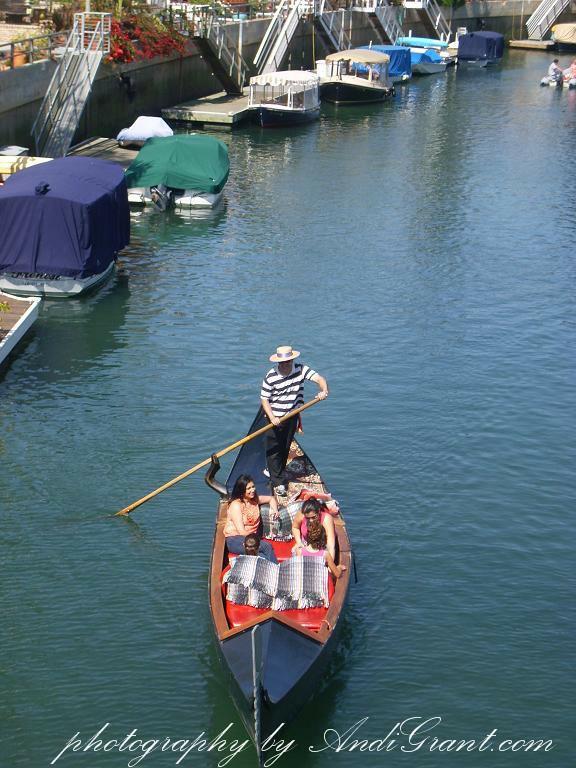 Naples Long Beach Ca Gondola Ride Photo