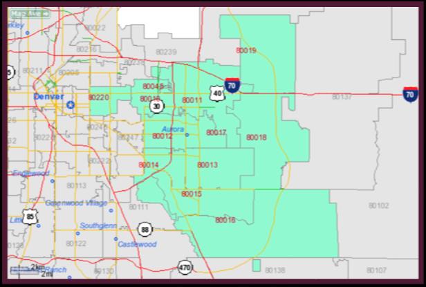 Centennial Colorado Zip Code Map.Aurora Colorado Hey It S Aok